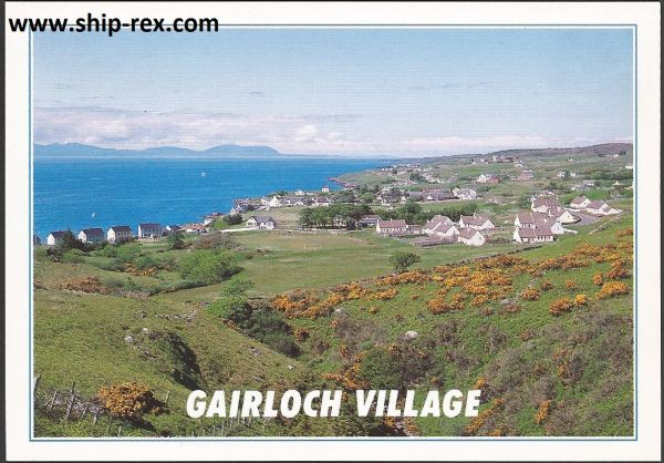 Gairloch Village, Ross and Cromarty - postcard